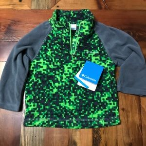 NWT Columbia pullover 2T